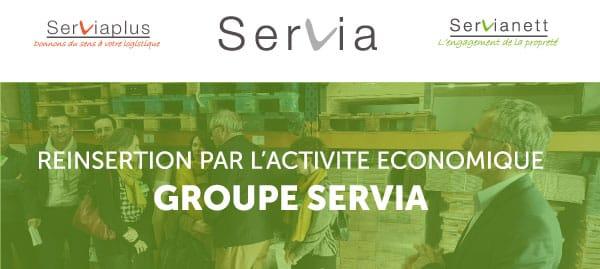 Logistique et Nettoyage, deux activités pour se réinsérer avec SERVIA